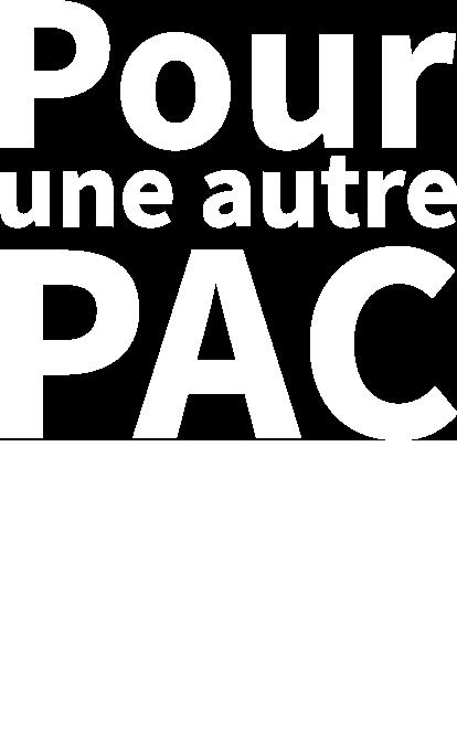 Pour une autre PAC - Logo